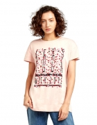 trussardi jeans nowy tshirt oversizie m 38 koszulka z nadrukiem...
