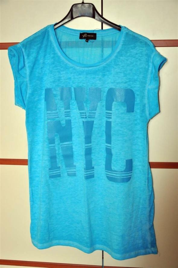 Koszulki niebieska koszulka 42 44