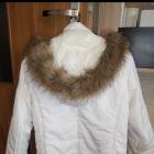 Kremowa kurtka