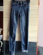 Jeansy rurki obcisłe Sinsay rozm 34 XS