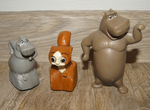 Figurki zestaw kolekcja Madagaskar...