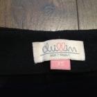Czarna spódnica rozkloszowana ciepła Cropp Chillin XS