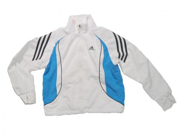 Śliczna bluza Adidas biała 140 146