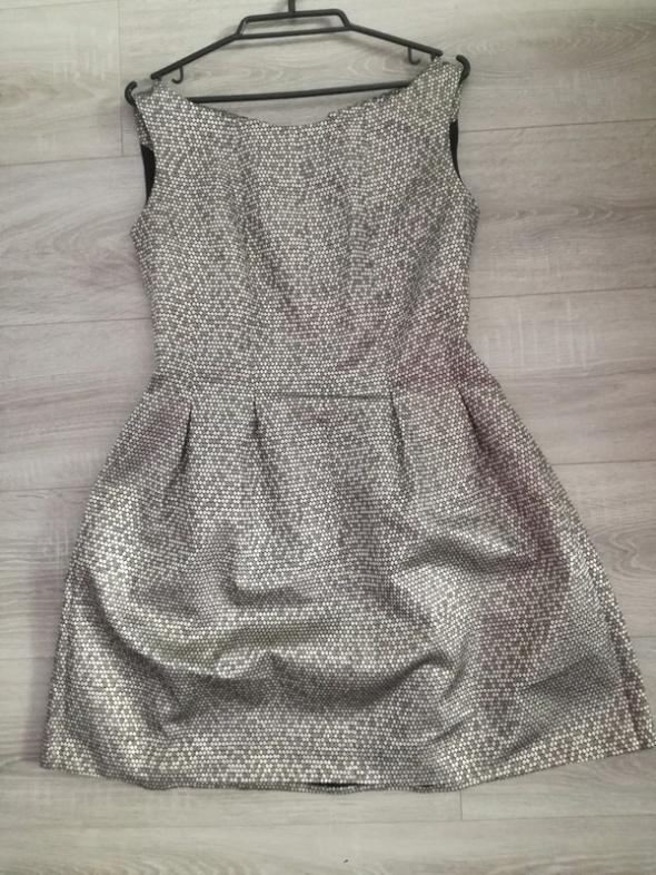 Złota sukienka L...
