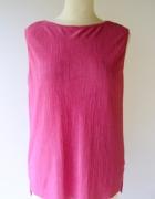 Bluzka Różowa Plisowana Plisa B Young M 38 Róż Pracy...