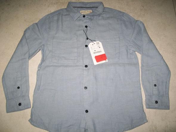 ZARA niebieska koszula chłopięca roz 128