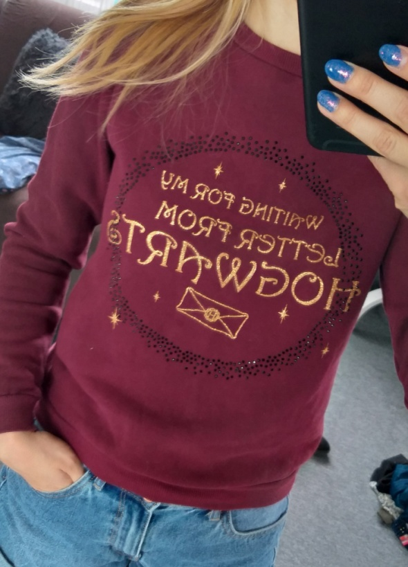 Bluza Harry Potter xs...