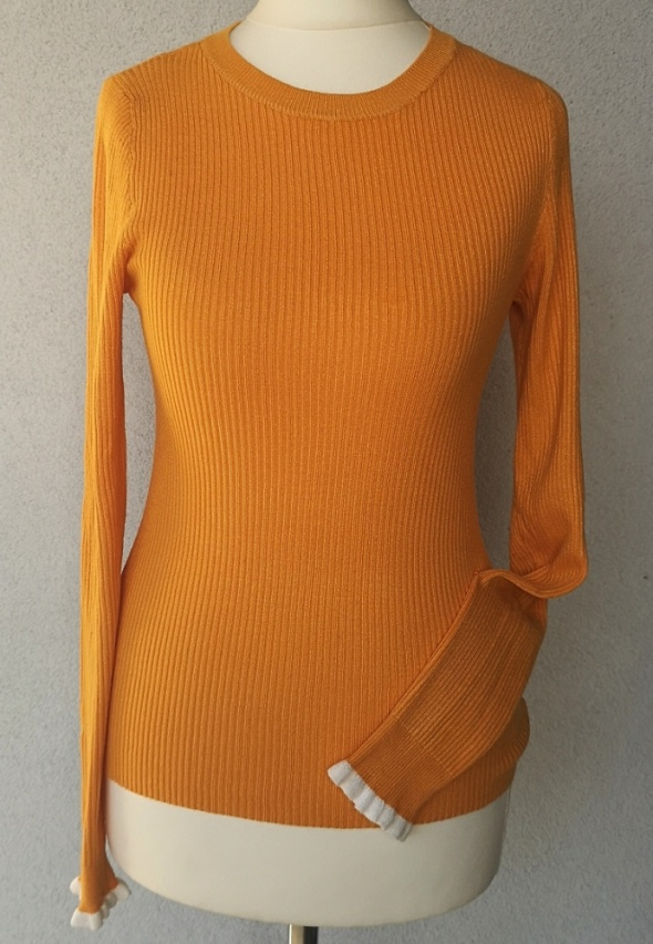NOWY sweter ONLY lamówka XS S...