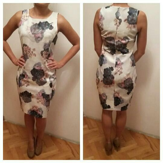 Suknie i sukienki Piękna sukienka bez rękawów H&M rozmiar M