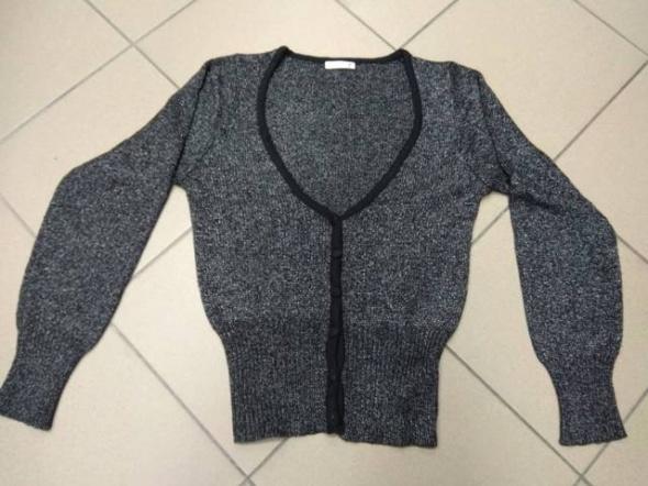 Sweter rozpinany czarno szary Reserved M 38...