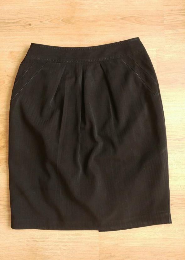 Spódnica czarna ołówkowa Marks&Spencer 40 L...
