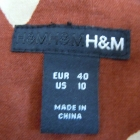 Spódnica wzór brąz beż H&M 40 L