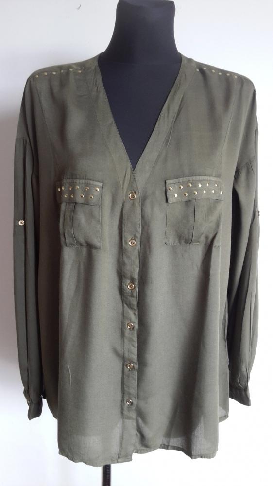 Koszule Koszula khaki AJC 40 42