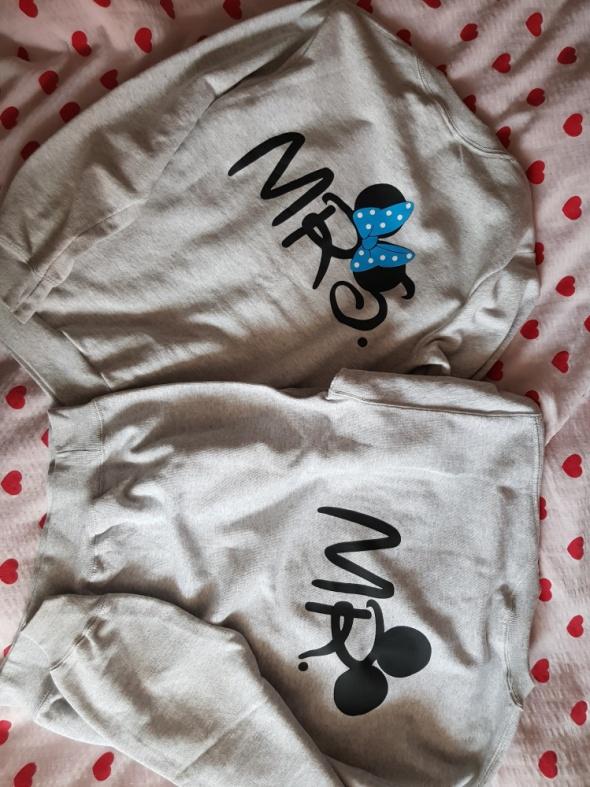 Bluzy Bluzy dla pary Pan i Pani szara M