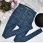 Spodnie Jeansy Dżinsy Bardzo Wysoki Stan High Waist Talia Osy Guziki Zipy Mom 90s Retro Vintage