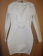 bandażowa sukienka bodycon...