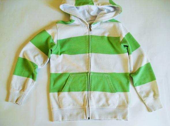 H&M Polar bluza z kapturem rozpinana dla dziecka rozm 134 140