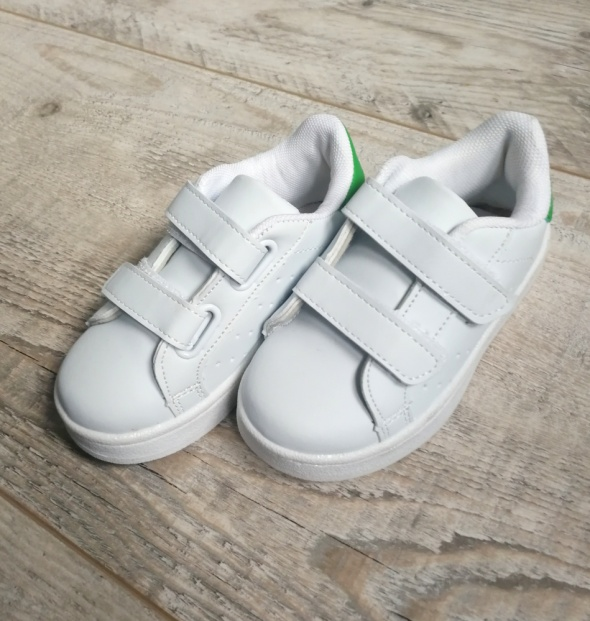 Białe buty trampki rozmiar 26