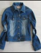 Katana jeansowa lekka kurtka rozmiar 36 S stan bdb...