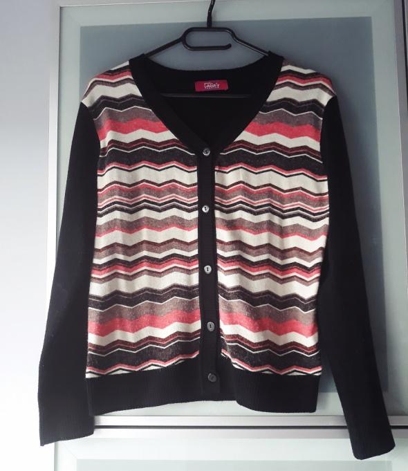 Swetry sweterek w azteckie wzory rozmiar S