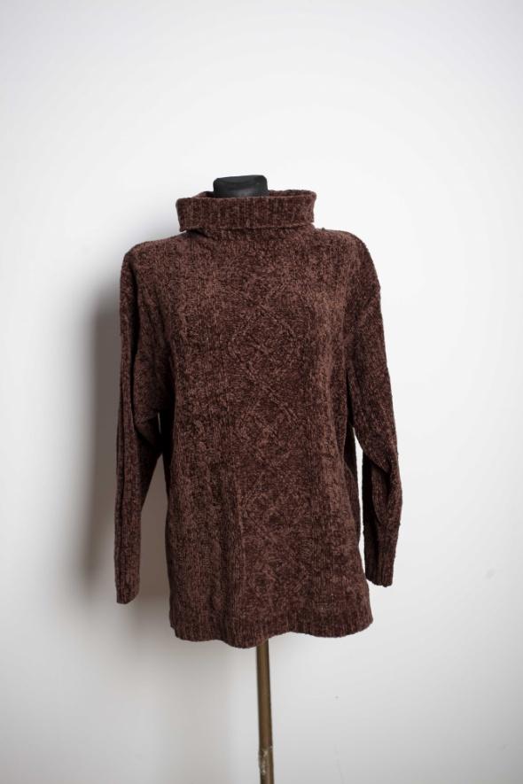 Sweter Warkocz...