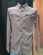 Koszula męska krata kratka Jeans Piere XXL...