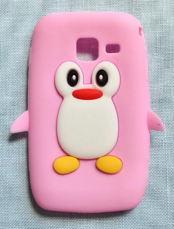 Obudowy i etui Nowe etui case Samsung Wave Y S5380 pingwin siliko