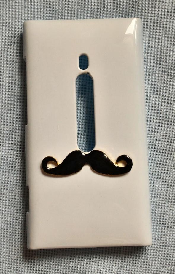 Obudowy i etui Nowe etui case Nokia N 800 N800 Microsoft wąsy