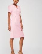 Nowa sukienka różowa Real Form XXXL 3XL 46 18 styl retro lata 5...