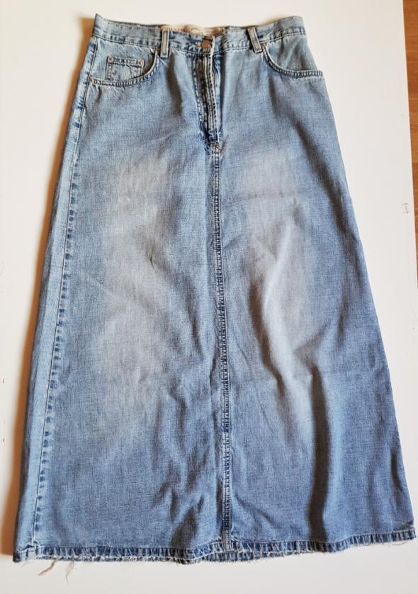 B DENIM B YOUNG Jeansowa spódnica maxi L