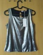 Elegancka bluzka bez rękawa rozmiar XS...