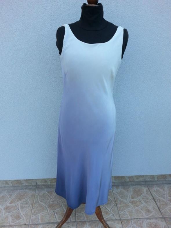 Suknie i sukienki Laura Ashley jedwabna sukienka