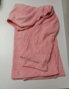 Swetr różowy wełniany H&M nowy z metką oversize...