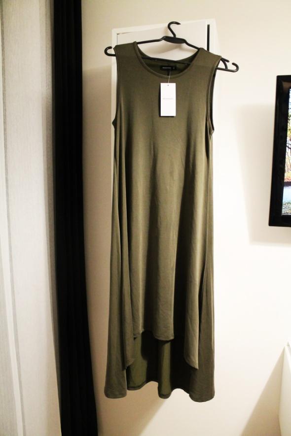 Suknie i sukienki Asymetryczna sukienka Reserved nowa