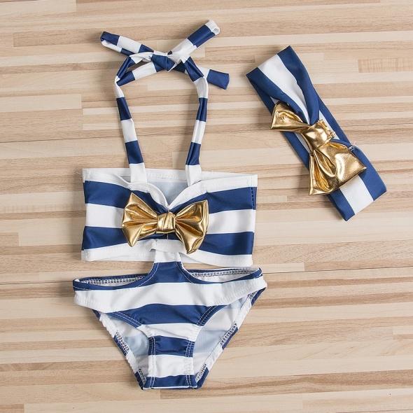 Bikini strój kąpielowy dziecięcy dziewczynka
