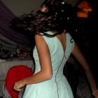 Miętowa sukienka