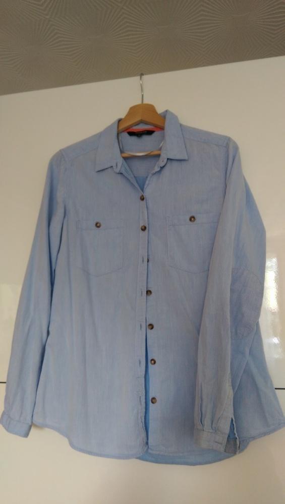 Bluzka koszula niebieska Reserved rozm 40...