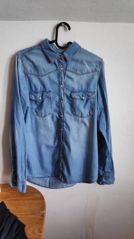 Koszule Dżinsowa koszula jeans M