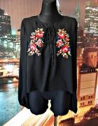 missguided bluzka modny haft kwiaty folklor jak nowa 44...