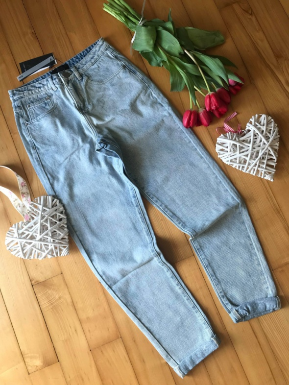 NOWE Boyfriend Jeansy LOST INK jeansy 36