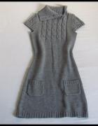 NEW LOOK ciepła sukienka na zimę 38 M 40 L...