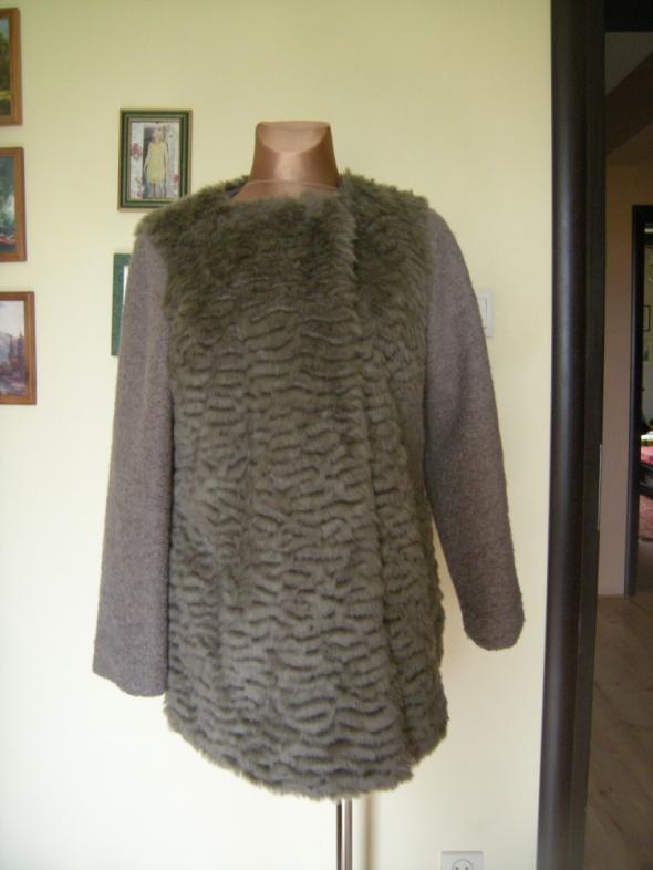 płaszczyk futerko bukla New Look L