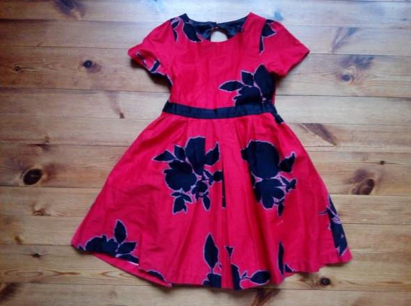 Sukienka elegancka dla dziewczynki 116 cm