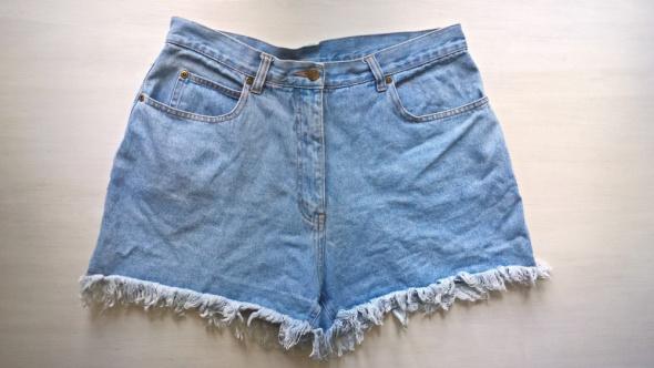 Jeansowe szorty mom jeans 42 44