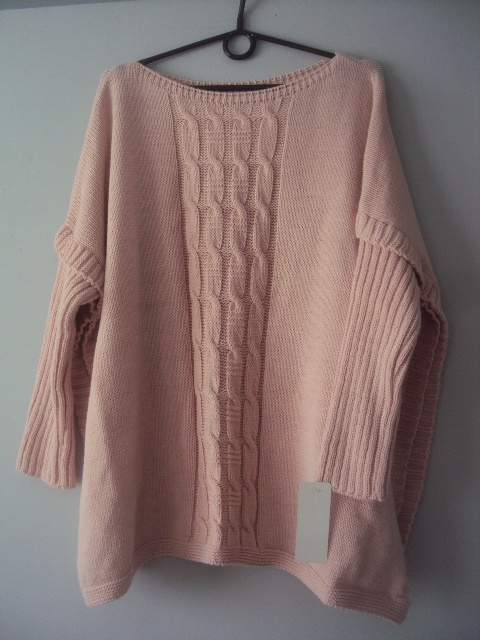 nowy sweterek narzutka...
