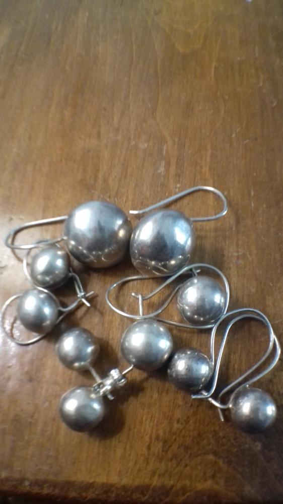 Wyprzedaż kulki srebro