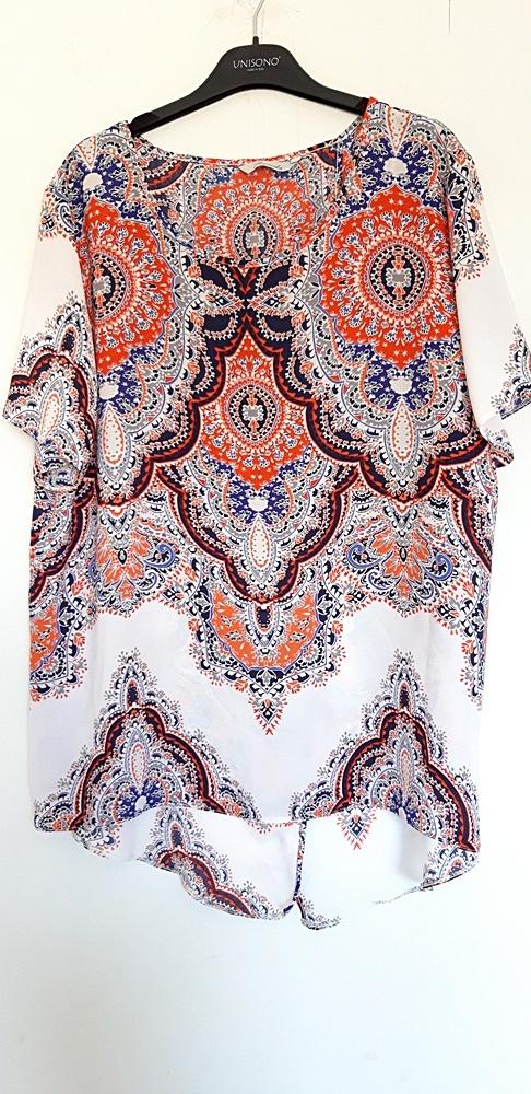 kolorowa bluzka Peacocks 46...