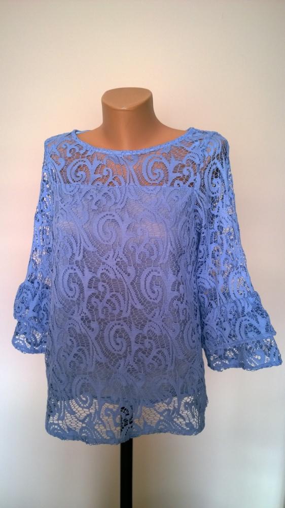 koronkowa blue