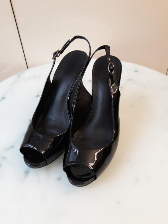 Czarne sandałki Kurt Beiger
