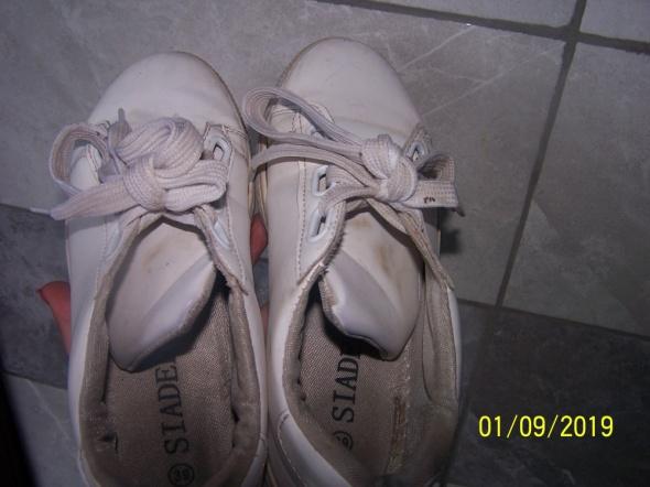 Buty sportowe białe używane r 39